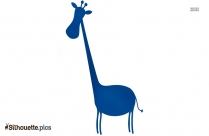 Giraffe Art Silhouette Image And Vector