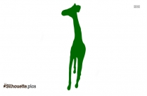 Horse Standing Silhouette Clipart
