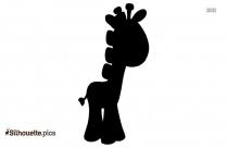 Giraffe Toy Illustration Silhouette