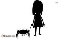 Free Cute Puppies Silhouette Image