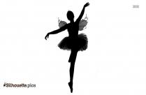 Girl Ballet Dancer Silhouette Clipart