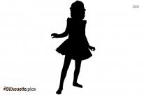 Disney Girl Silhouette Art
