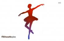 Silhouette Of Ballerina Dancer