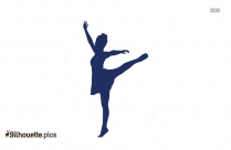 Girl Dancing Clipart Silhouette