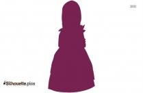 Talking Dolls For Girls Silhouette Illustration