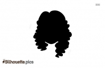 Girl Head Silhouette Vector