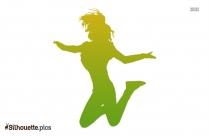 Jump Fun Silhouette Picture
