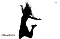 Hip Hop Dance Pose Silhouette