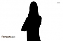 Girl Silhouette Image, Clipart