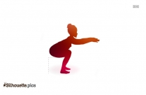 Weight Lifter Silhouette Clipart