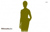 Beautiful Young Girl Clipart Vector