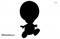 Japanese Boy Silhouette Image