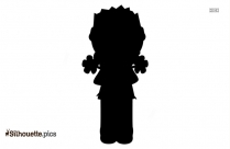 Little Girl Clipart Silhouette For Download