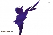 Gladiolus Flower Clipart Silhouette