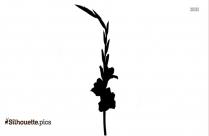 Flower Silhouette Figure