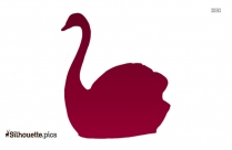 Swan Drawing Silhouette