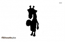 Go Diego Go Giraffe Silhouette Illustration