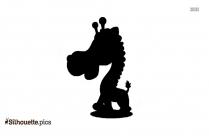 Go Diego Go Giraffe Silhouette Image