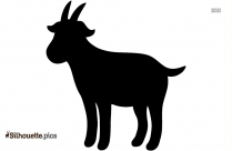 Goat Silhouette Illustration