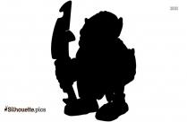 Disney Grumpy Symbol Silhouette