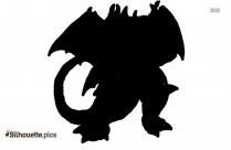 Godzilla Destroyah Silhouette Illustration