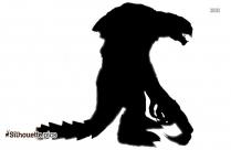 Godzilla Man Silhouette