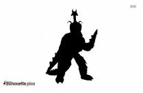 Clipart Of Bear Silhouette Image
