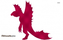 Godzilla Destroyah Silhouette Image And Vector