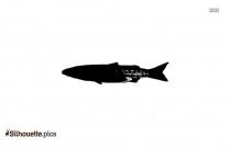 Freshwater Fish Silhouette Clip Art