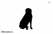 Pet Dog Silhouette