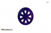 Golf Cart Wheel Icon