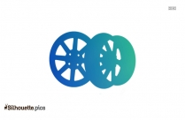 Golf Cart Wheels Clipart