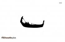 Gondola Boat Silhouette Art