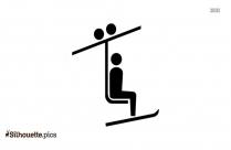 Gondola Lift Clipart Silhouette