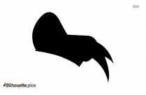 Goofy Hat Silhouette Vector And Graphics