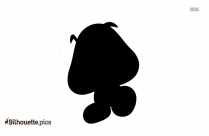 Cartoon Mario Characters Silhouette