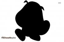 Pokemon Character Silhouette Icon