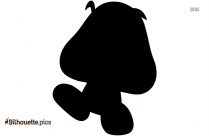 Goomba Silhouette Image And Vector