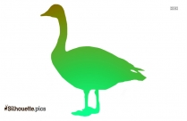 Goose Vector Image Silhouette