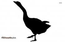 Penguin Clipart Silhouette Vector Image