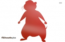 Gopher Winnie The Pooh Clip Art, Disney Character Silhouette