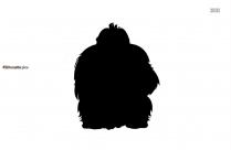 Gorilla Animal Silhouette