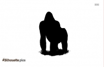 Clipart Howling Wolf Silhouette