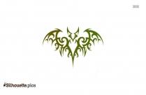 Celtic Tattoo Design Silhouette