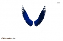 Little Angel Wings Silhouette