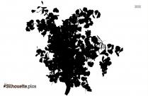 Grape Vine Silhouette Clip Art