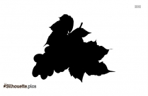 Green Grapes Silhouette