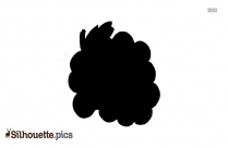Grapes Clipart Vector Silhouette