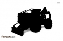 Grapple Skidder Silhouette
