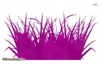 Grass Background Silhouette Image And Vector